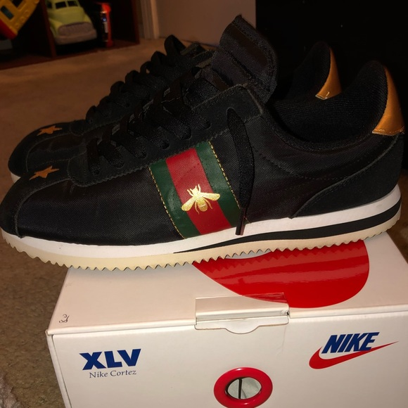 Nike Shoes Custom Cortez Gucci Size 8 Poshmark